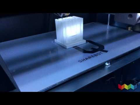 Come stampare in 3D con i supporti: colonna romana