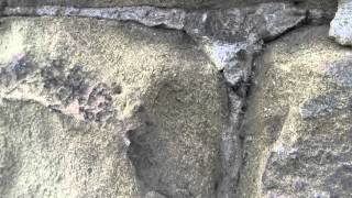 Why stone walls spall and erode