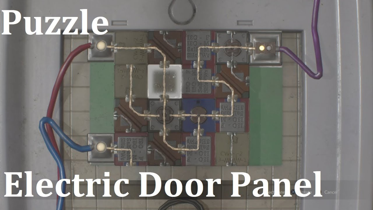 Resident Evil 2 Remake Electric Door Panel Puzzle Youtube
