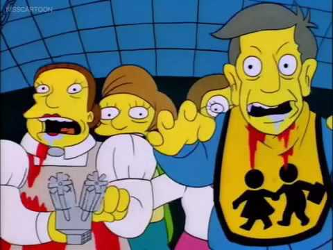 Treehouse of horror V: Nightmare Cafeteria part 2/2