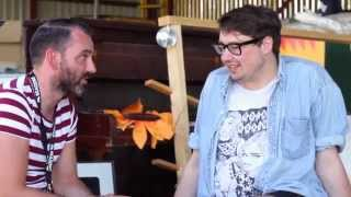 Hookworms - Beacons Festival 2014 (Interview)