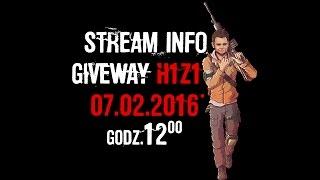 Stream info 07.02.2016 + giveway na100 subów! :)