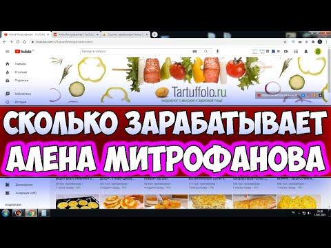 Сколько зарабатывает Алена Митрофанова