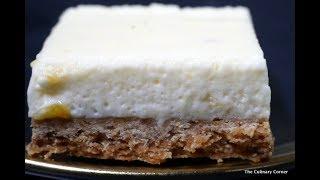 Passionfruit & Marshmallow Slice