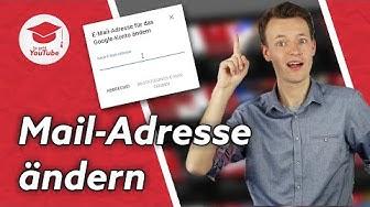 E-Mail-Adresse von YouTube-Kanal ändern - So geht es