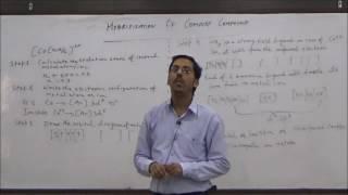 Hybridization of Co-ordination Compounds