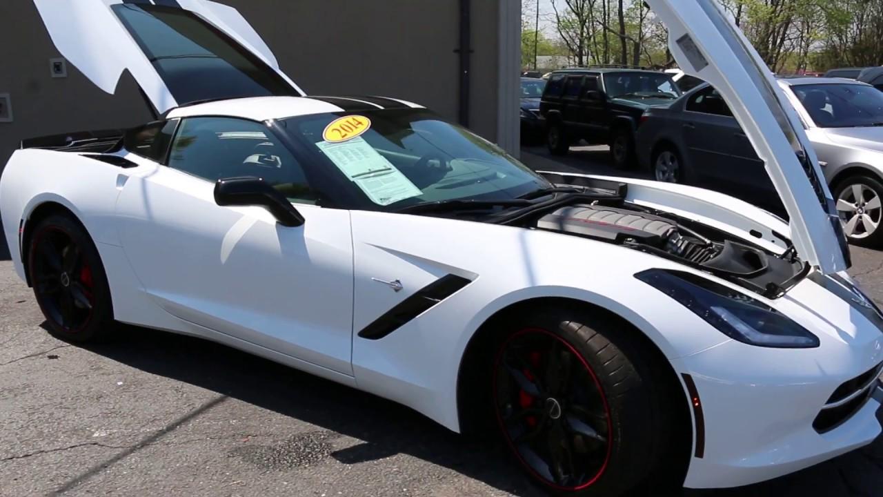 2014 Corvette Stingray For Sale >> 2014 Chevrolet Corvette 2lt Z51 Coupe For Sale White Red Only 2750