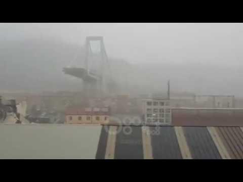 Ora News - Rrëzohet ura në Genova të Italisë, mediat lokale flasin për të paktën 10 viktima