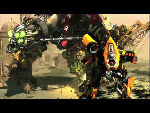 TRANSFORMERS Revenge of the Fallen Devastator vs Bumblebee Game Trailer HD NEW!