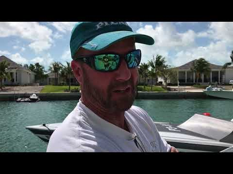 Checking out all Race Boats in Bimini Bahamas before the Race