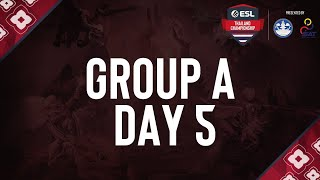 ESL Thailand Championship 2020 - Dota 2 Presented by MoTS & SAT   Group A Day 5