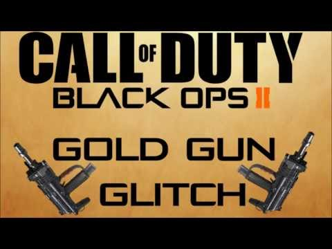 Gold Guns Black Ops 2 Glitch Duty Black Ops 2 Gold Gun