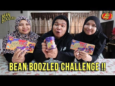 Bean Boozled Challenge! w/ Sister! (Malaysia)