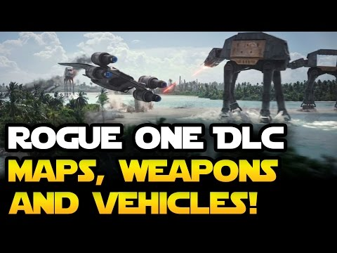 Star Wars Battlefront ROGUE ONE SCARIF: Maps, Weapons, Vehicles We Want to See from the Trailer!