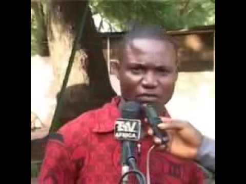 African man stuttering relentlessly while attempting to speak English