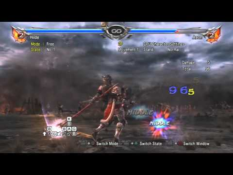 Soul Calibur V - Hilde BE Loop