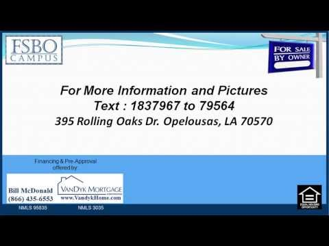 3 bedroom House for Sale near Leonville Elementary School in Opelousas LA