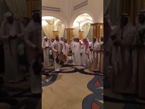 مقطع عرضة زواج الشاب ابراهيم بن عبدالله بن محمد العقيلي الخالدي يوم الجمعة ١٨ / ١٠ / ١٤٤٠.