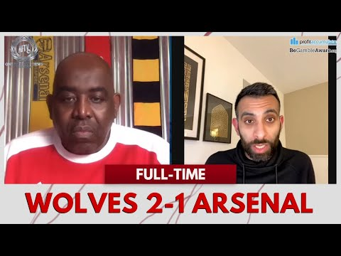 Wolves 2-1 Arsenal | The Red Card Was David Luiz's Fault! (Frustrated Moh)