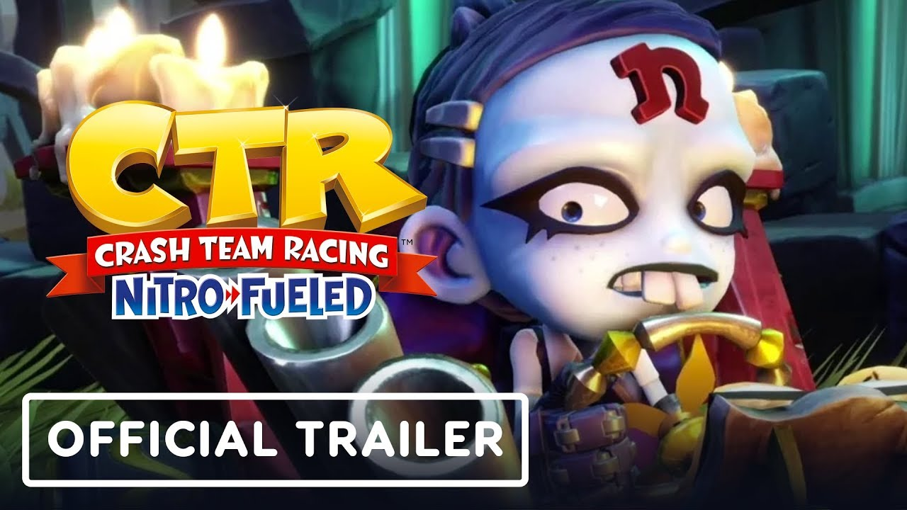 Crash Team Racing - Official Spooky Grand Prix Trailer