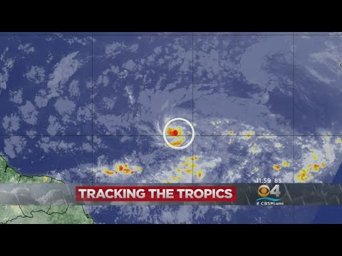 Tropical Depression Forms In Central Atlantic