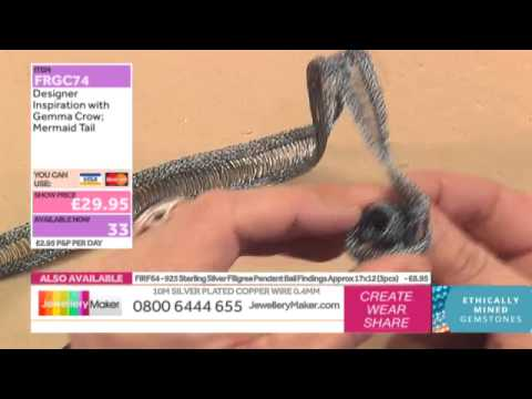 [How to make Wire Ribbon Jewellery] - JewelleryMaker DI 8/1/