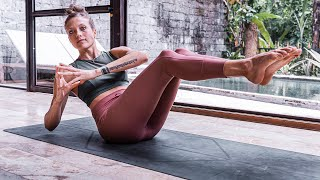 13 Minute Killer Core Routine (No Equipment Home Workout) | Breathe and Flow Yoga