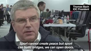 No concerns over North Korea 'hijack'   IOC President Bach
