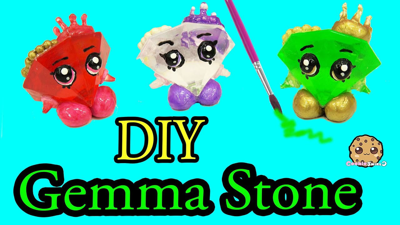 Custom shopkins do it yourself craft cookieswirlc video youtube
