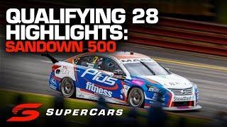Highlights: Qualifying 28 Sandown 500 | Supercars Championship 2019
