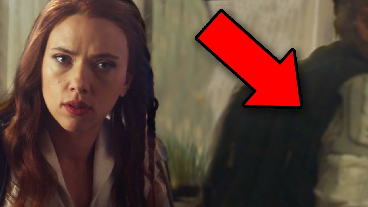 Black Widow Trailer Breakdown Easter Eggs Details You Missed