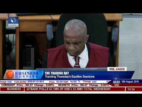 Tracking Thursday's Equities Session |Business Morning|