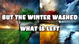 Future Islands - Seasons - Lyrics on Screen