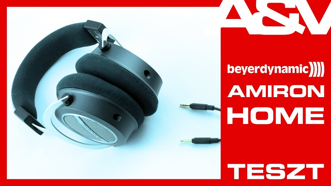 Beyerdynamic Amiron Home hifi fejhallgató teszt AV-Online - YouTube 8f30fab4db