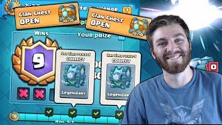 DOUBLE LEGENDARY CHESTS!! & MAX CLAN CHEST OPENING! | Clash Royale | LEGENDARY CARD HUNT!