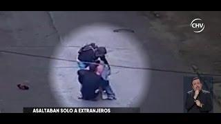 Banda de delincuentes asaltan a extranjeros en Iquique - CHV NOTICIAS