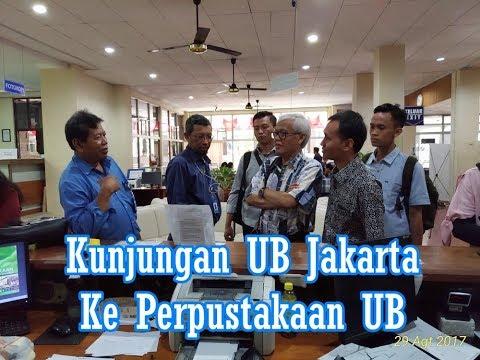 Kunjungan Staf UB Jakarta ke Perpustakaan UB