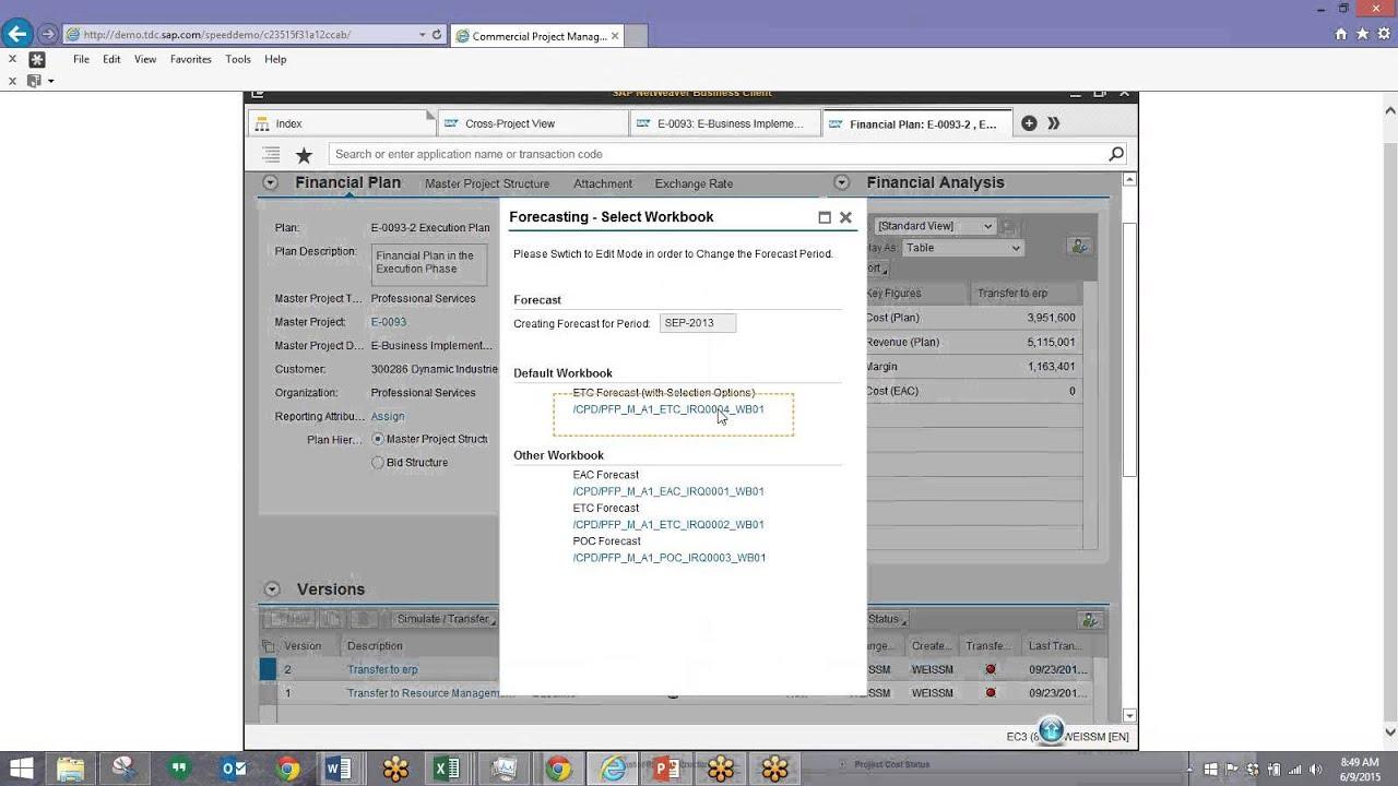 Sap commercial project management for professional services youtube sap commercial project management for professional services xflitez Image collections