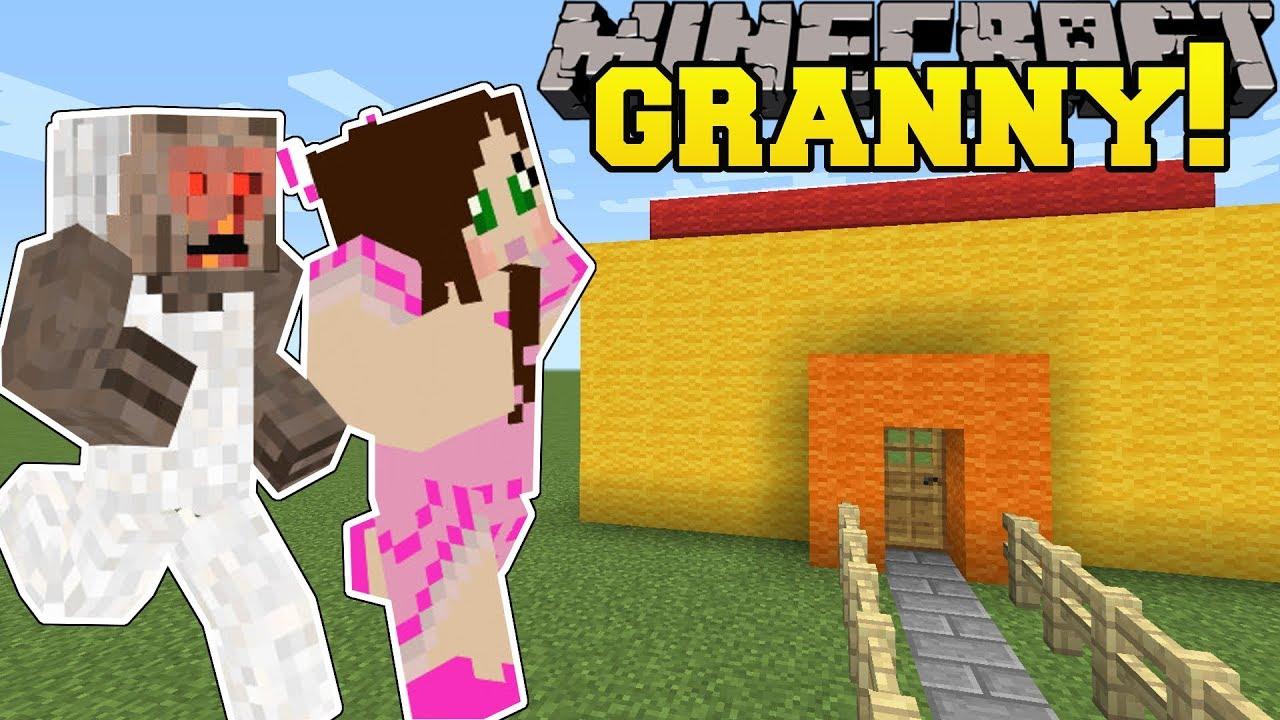 Minecraft: ESCAPE GRANNY'S HOUSE!!! - GRANNY - Custom Map