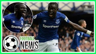 Oumar Niasse scored two late goals to help Everton to a 2-1 win against Bournemouth