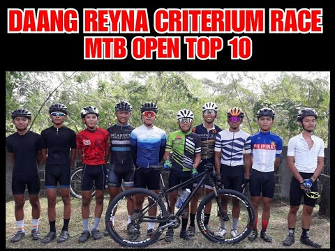 DAANG REYNA CRITERIUM RACE MTB OPEN CATEGORY VID CLIPS(January 17, 2020)