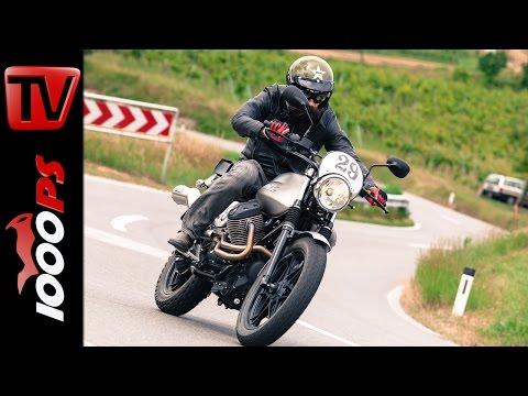 2015 Moto Guzzi V7 II Scrambler Test | Fazit, Action, Umbaukit