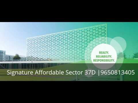 Signature Global Affordable Housing Sector 37D Gurgaon |9650813405