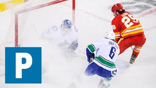 Travis Green talks Canucks 5-2 loss to Calgary Flames  The Province