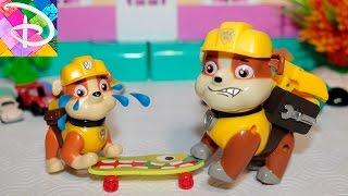 Щенячий Патруль новые серии на русском Крепыш отбирает у братика игрушки Развивающее видео для детей