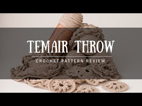 Crochet Pattern Review The Temair Throw By Lion Brand Yarn Nicky