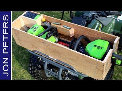 Make  Build a Toolbox  for a Four Wheeler ATV