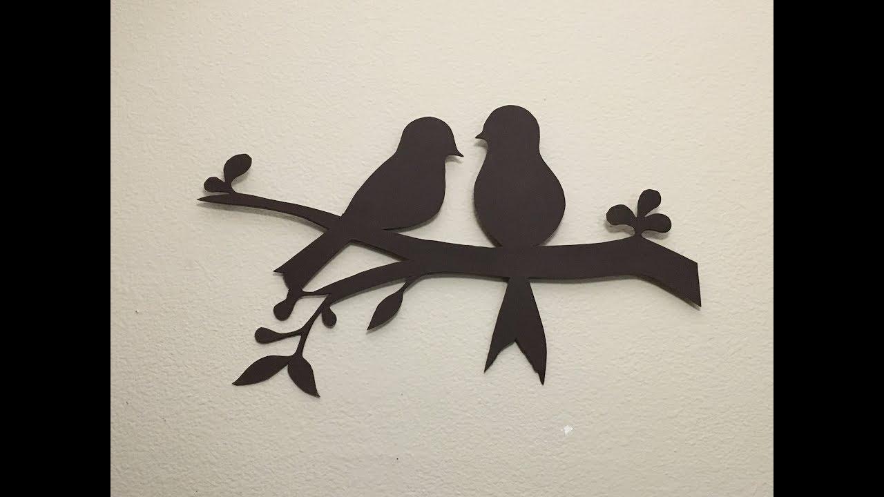 Diy Bird Wall Decor You