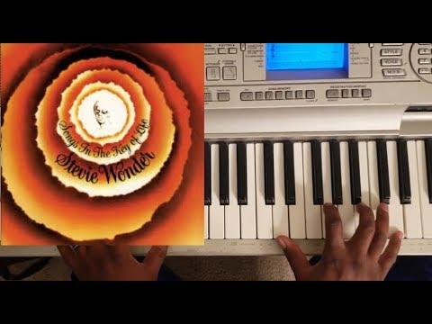 stevie wonder - sir duke (songs in the key of life) piano tutorial f# major