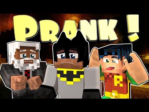Minecraft PRANK! Robin Dies and Batman Cries! (Minecraft Roleplay)
